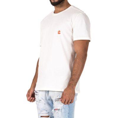 T-Shirt-Orange-Branco---G