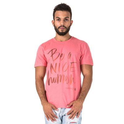 t-shirt-be-a-nice-human-Bordo---G