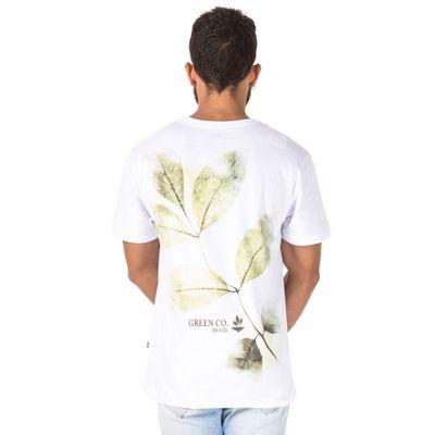 T-Shirt-Folha-Desgastada-BRANCO-P