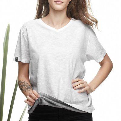 Camiseta-Dupla-Face-Gola-V-Flame-Cinza---M