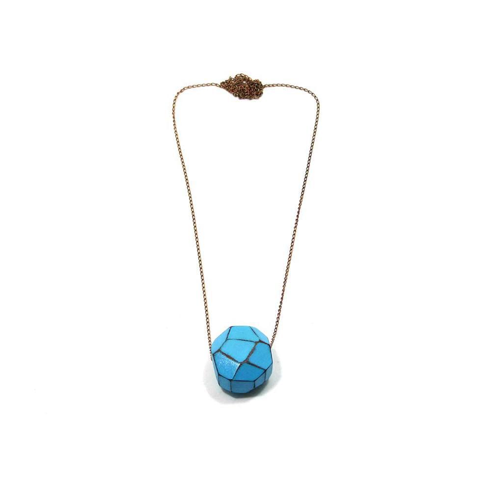 Colar-Facetado-Mini-Azul