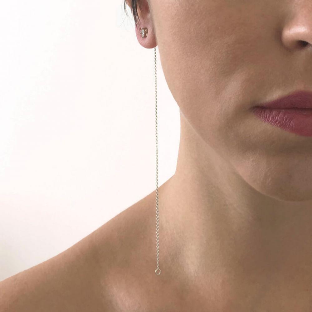 Brinco-Corrente-Linea-Prata-com-banho-de-Rodio