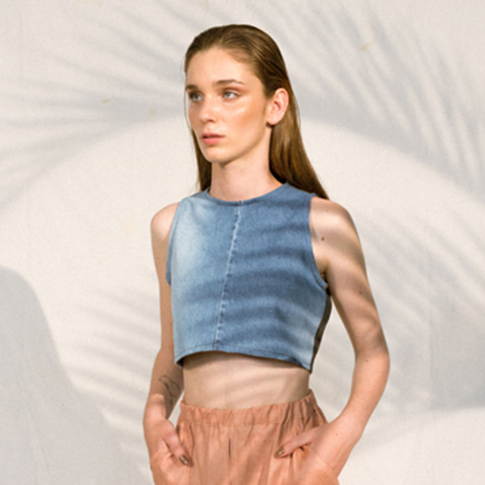 Blusa-Cropped-Upcycle-Jeans-Tamanho-M