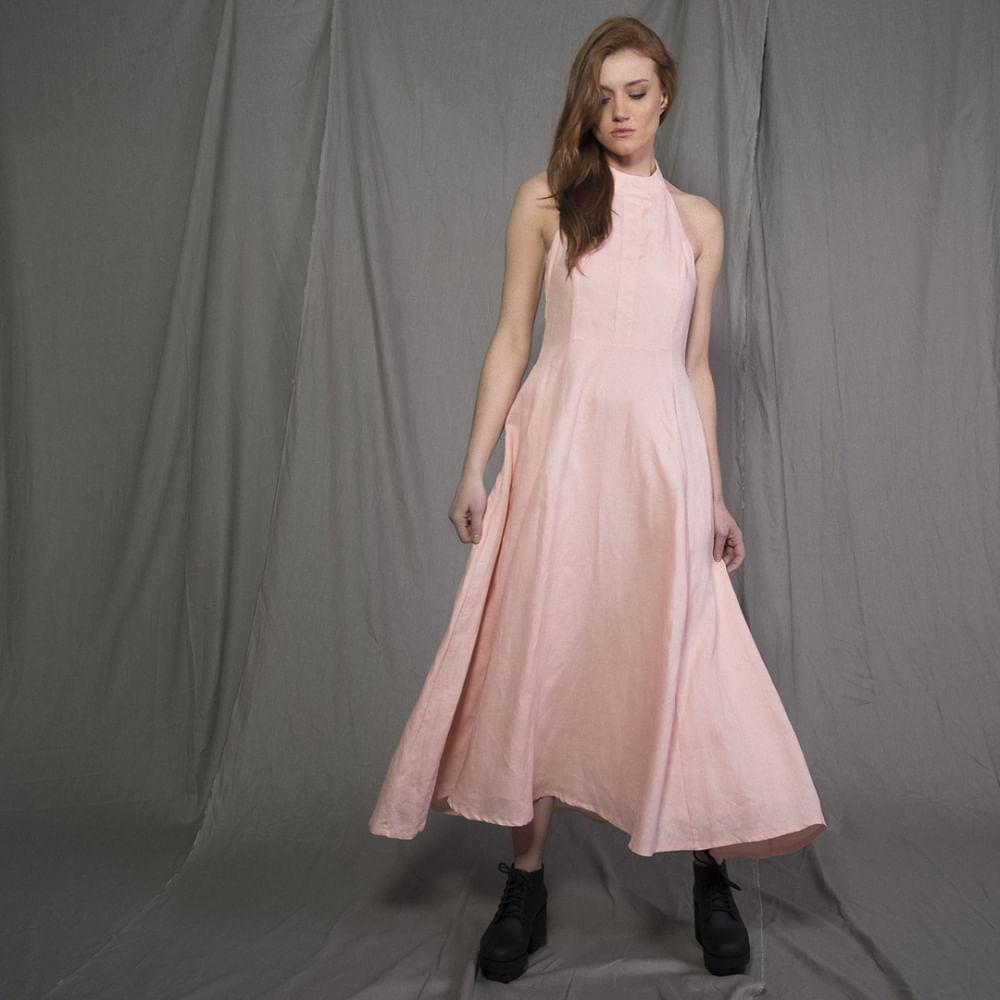 Vestido-Linho-Frente-Unica-Rosa-P