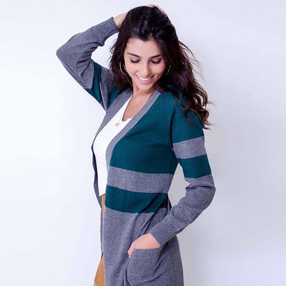 Maxi-Cardigan-Tricot-GreyOlive-Tamanho-Unico