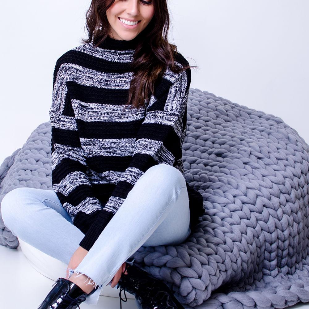 Blusa-Tricot-Black-Stripes-Tamanho-Unico