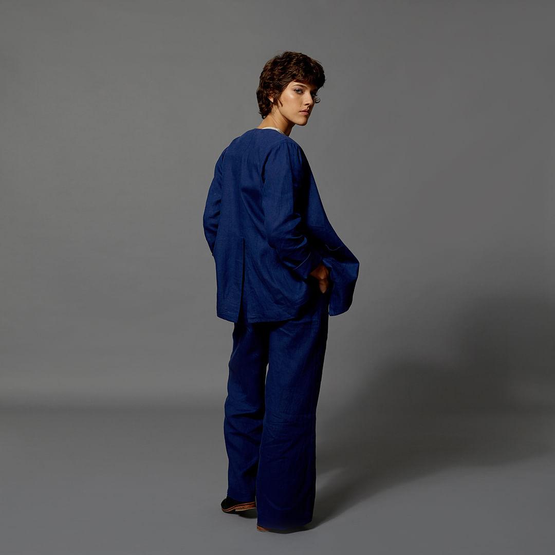 Calca-Linho-Pantalona-Azul-Tam-G