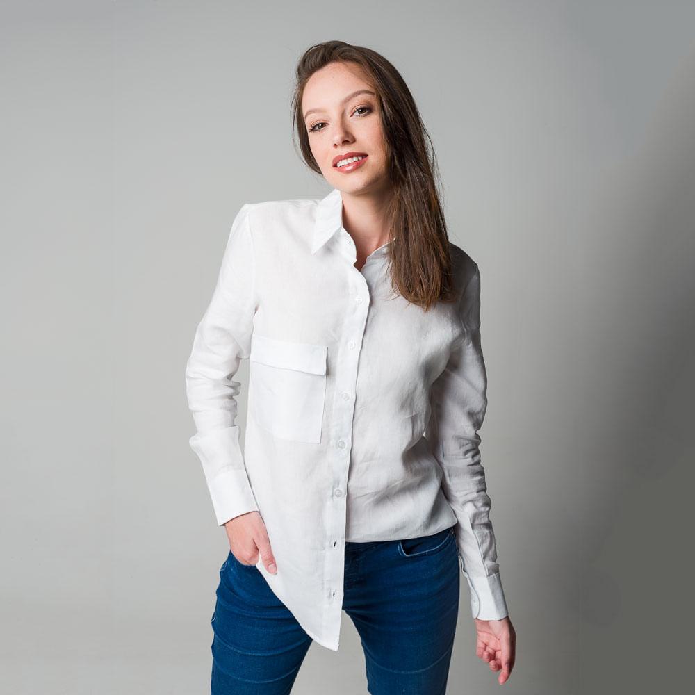 Camisa-de-Linho-Branco-com-Bolso-Tam-G