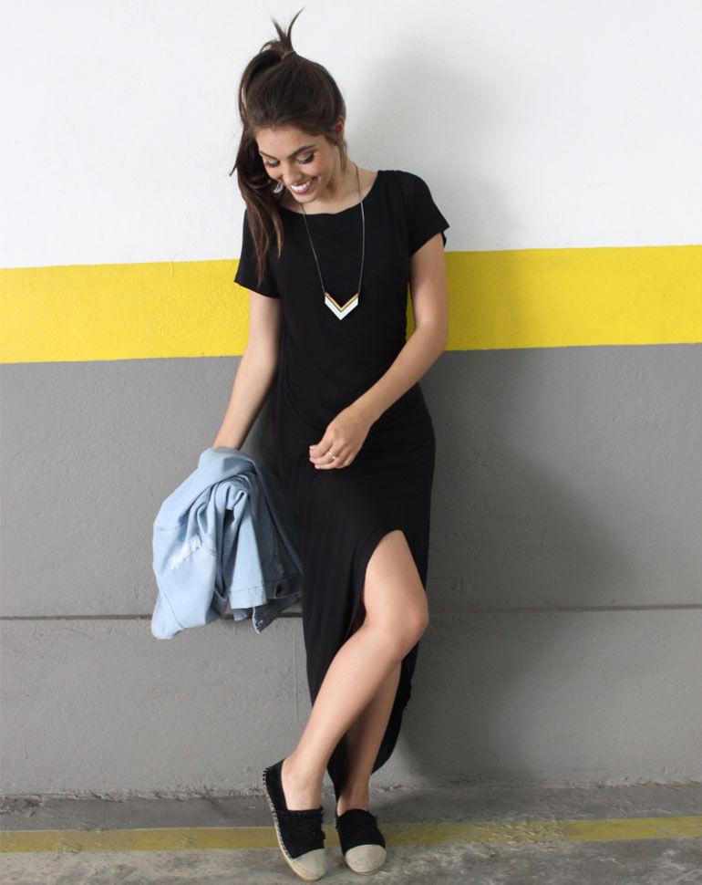 Vestido-Longo-Mullet--Black-M
