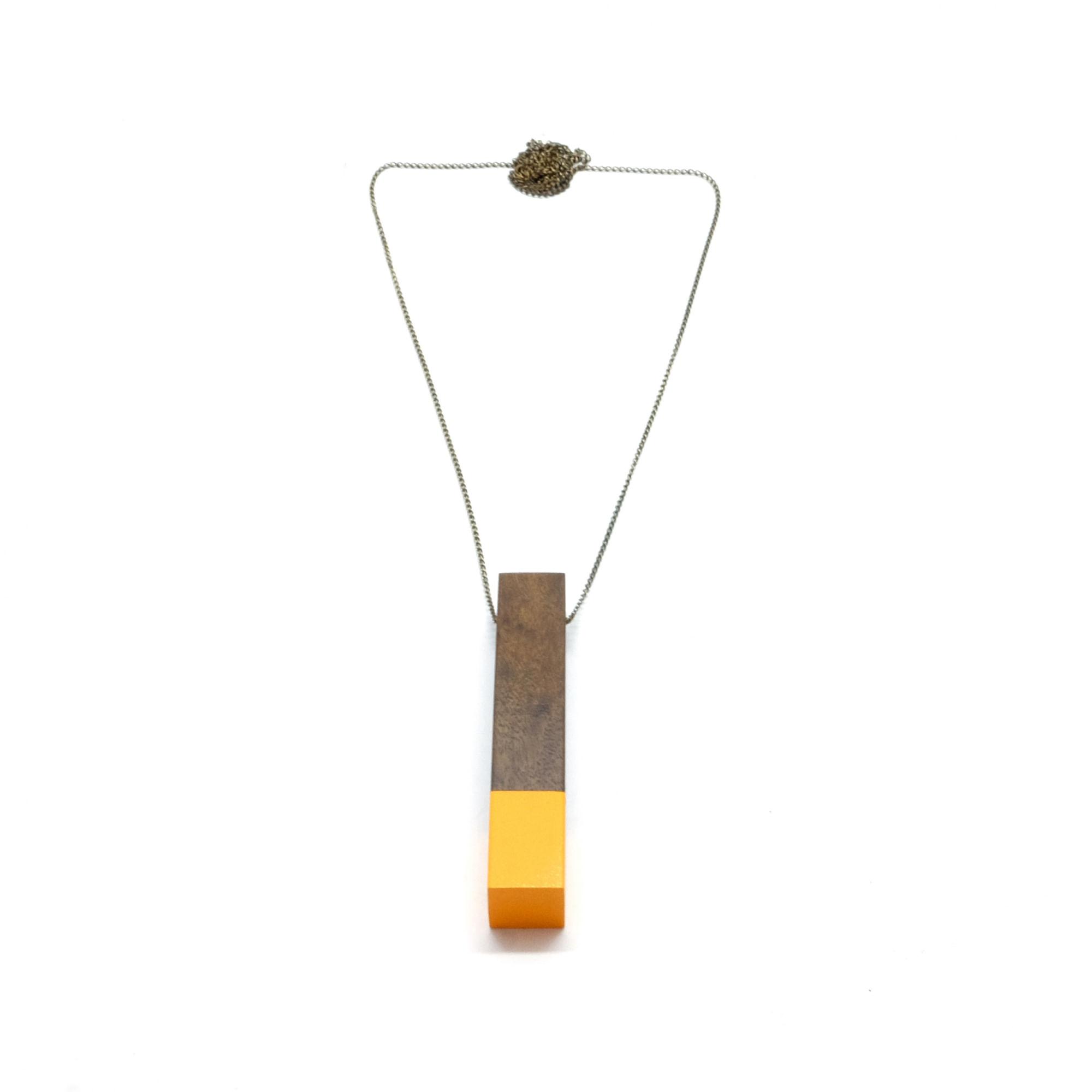 Colar-Coluna-Amarelo-Tamanho-Unico