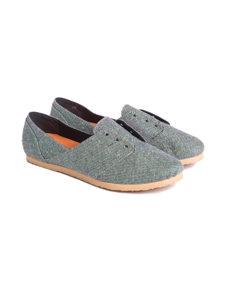 Sapato-Lurex-Cinza-Eco