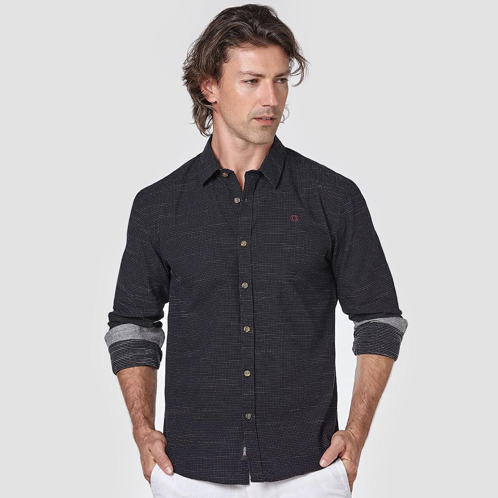 Camisa-Slim-Bordada
