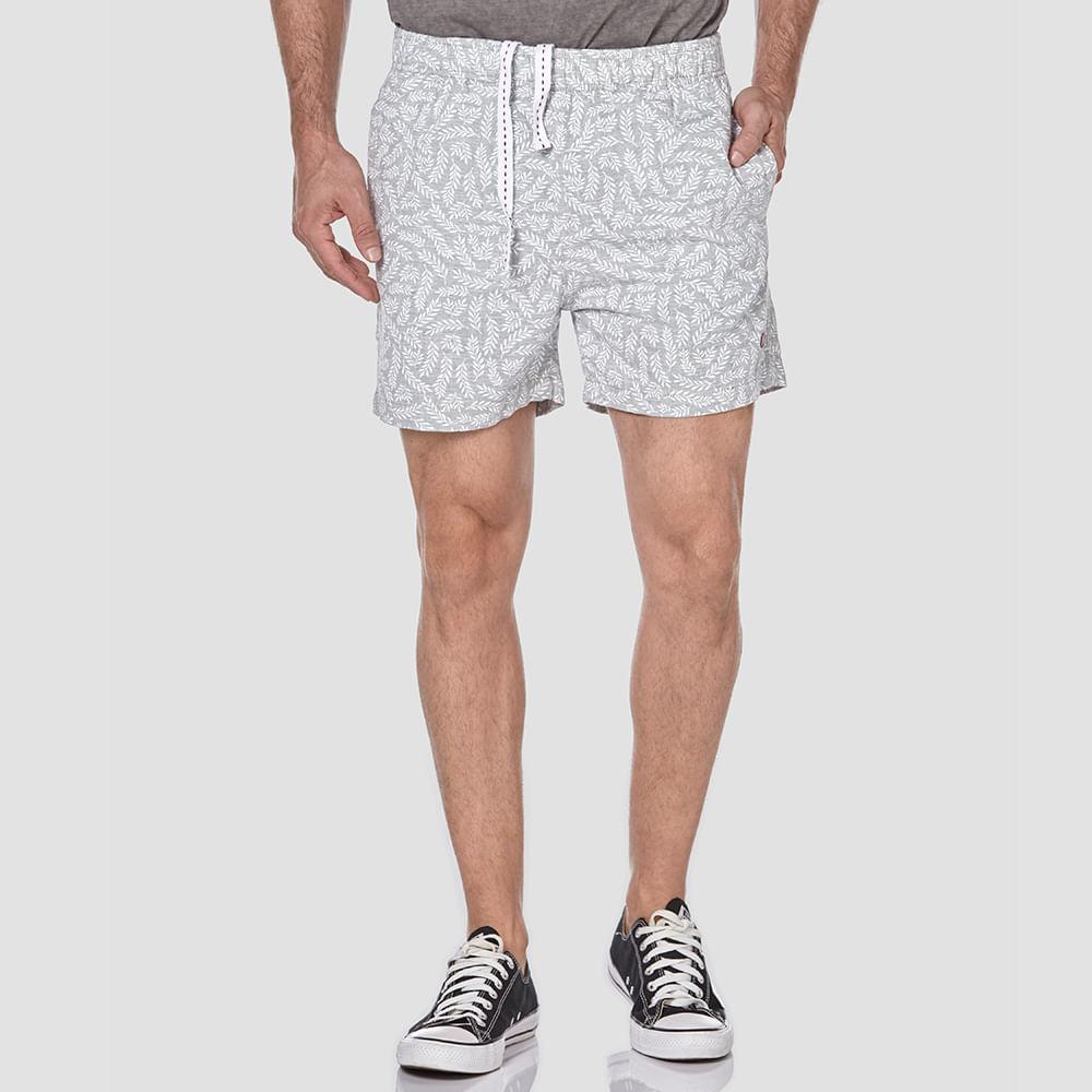 Shorts-Boxer-Folhas-Estampada-