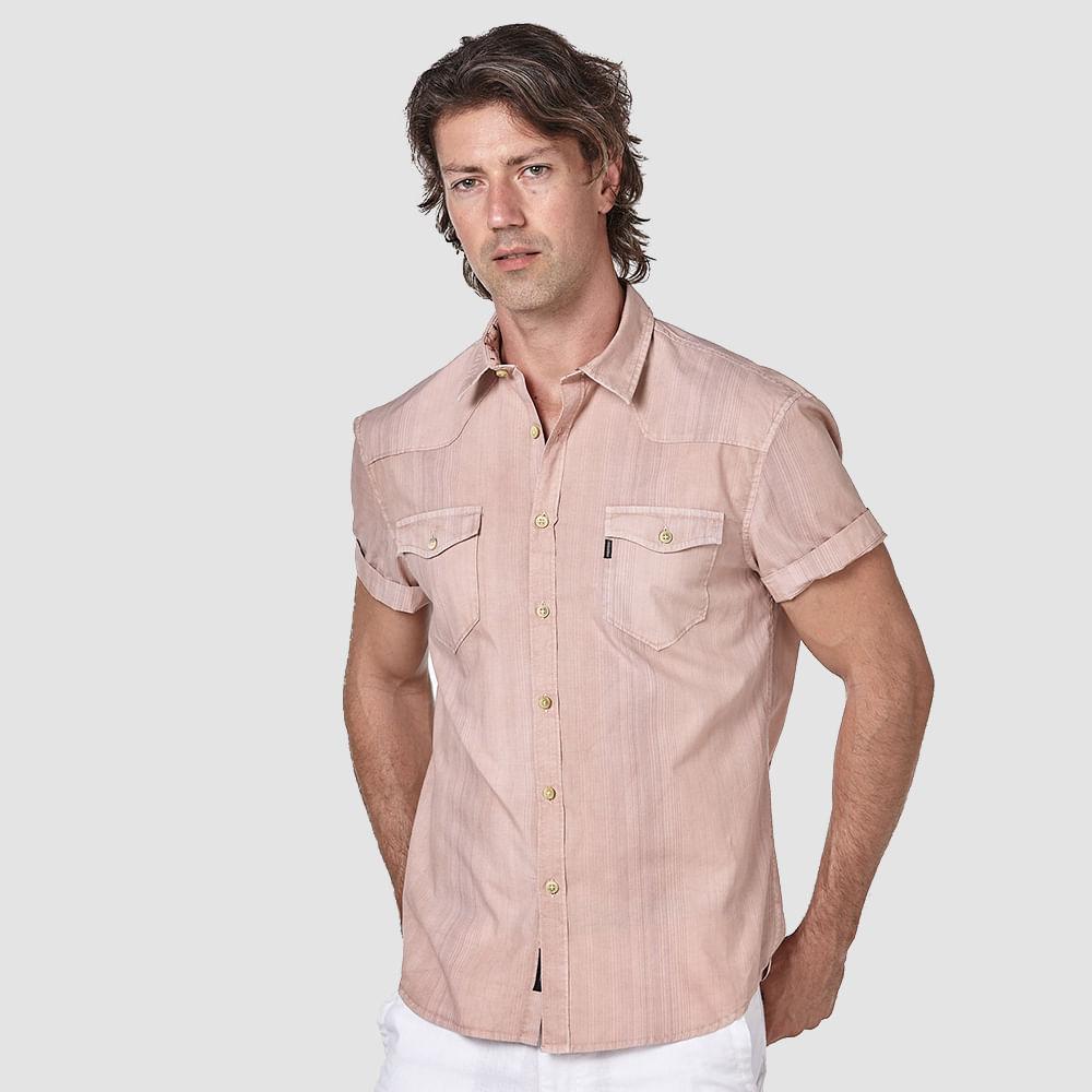 Camisa-Striped-Pockets