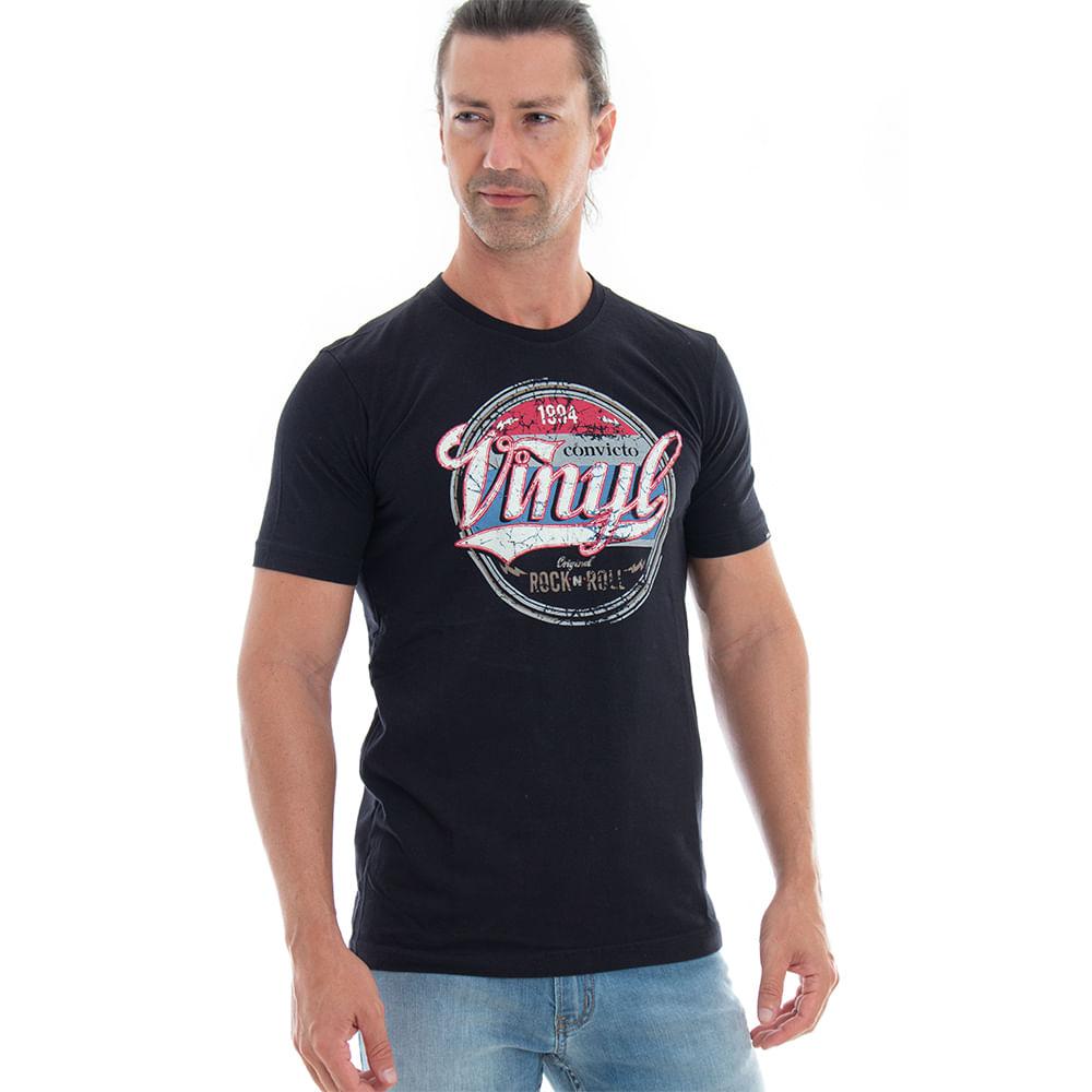 Camiseta-Convito-Vinyl-Rock-and-Roll
