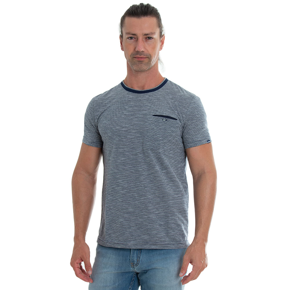 Camiseta-Listrada-com-Bolso