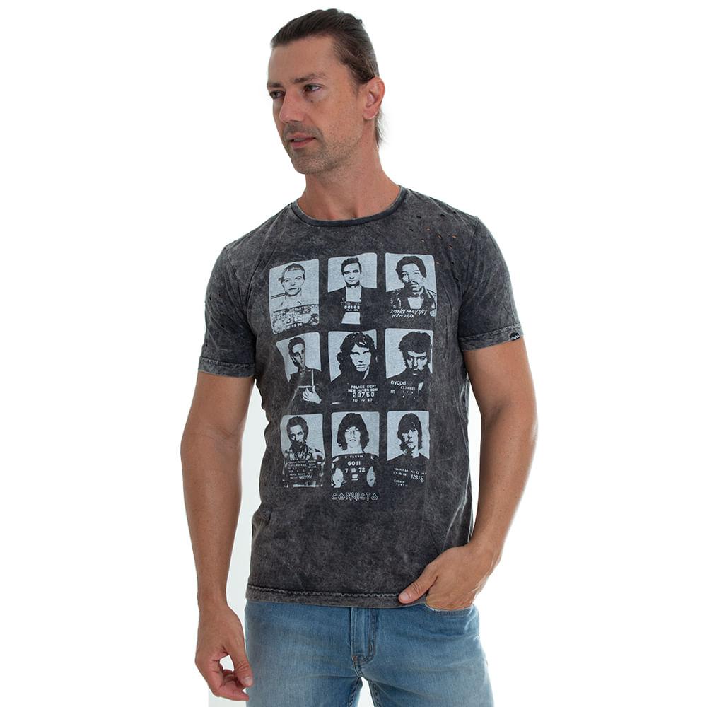 Camiseta-Rock-Idols