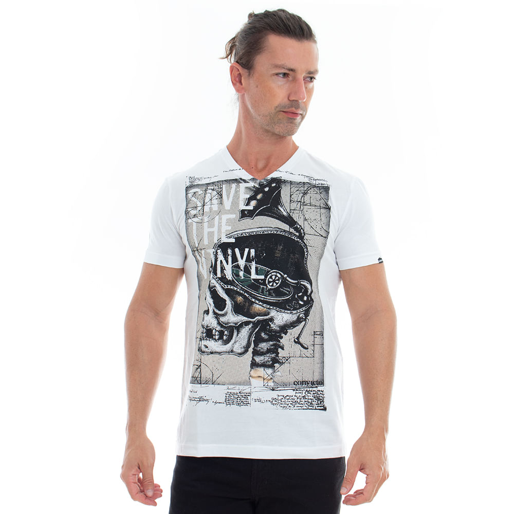 Camiseta-Skull-Save-The-Vinyl