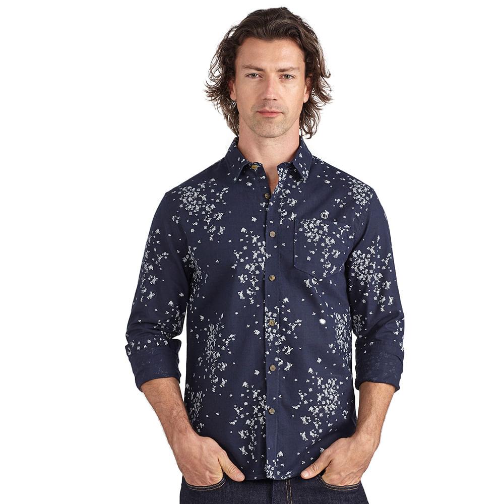 Camisa-slim-florida-com-bolso