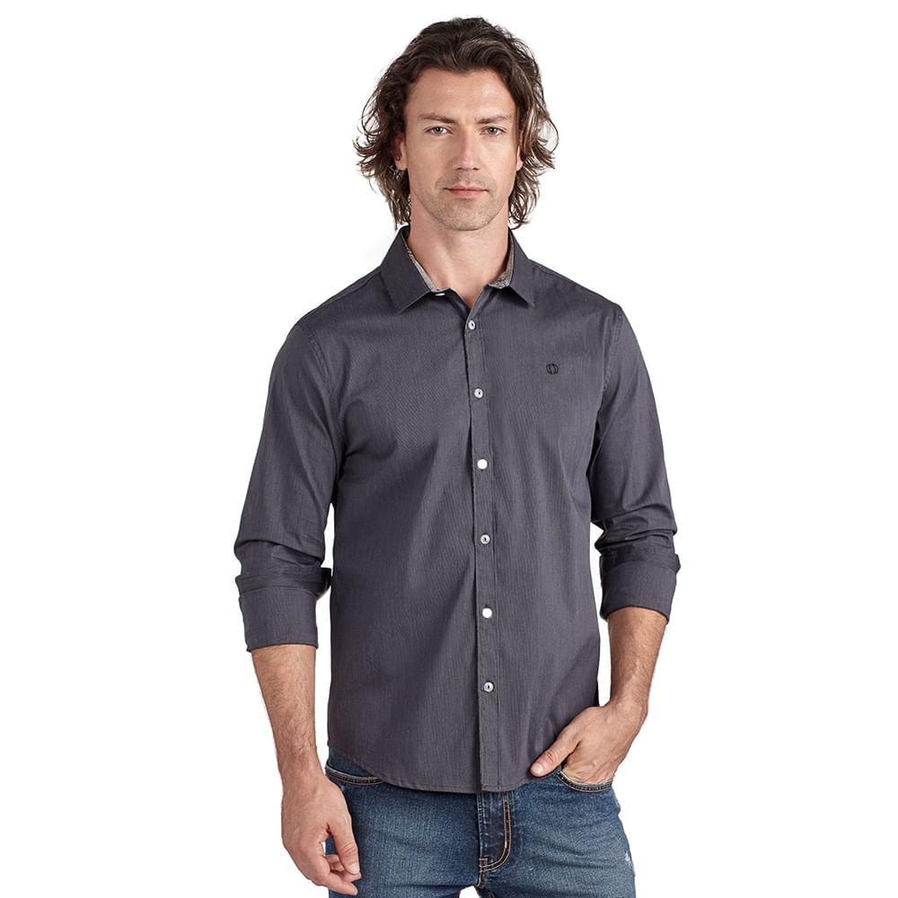 Camisa-slim-detalhe-floral-