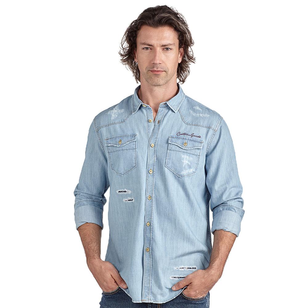 Camisa-slim-jeans-com-rasgos