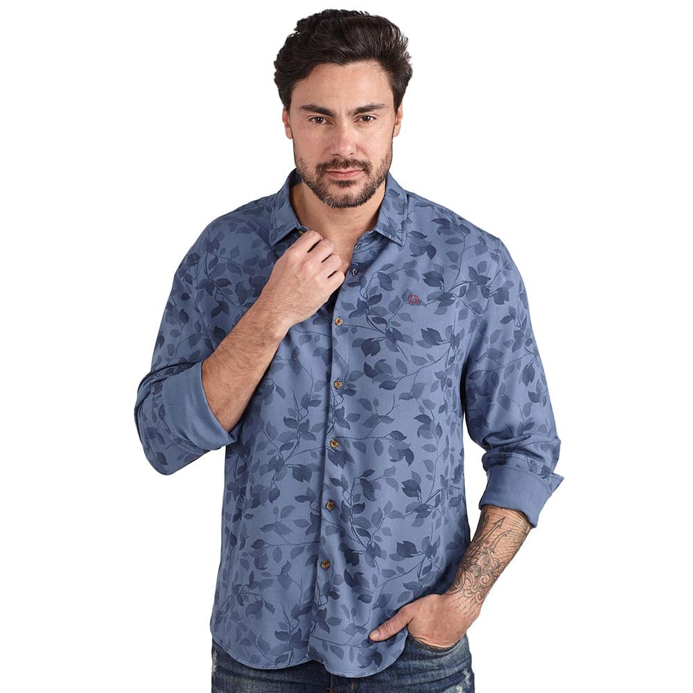 Camisa-regular-folhagem