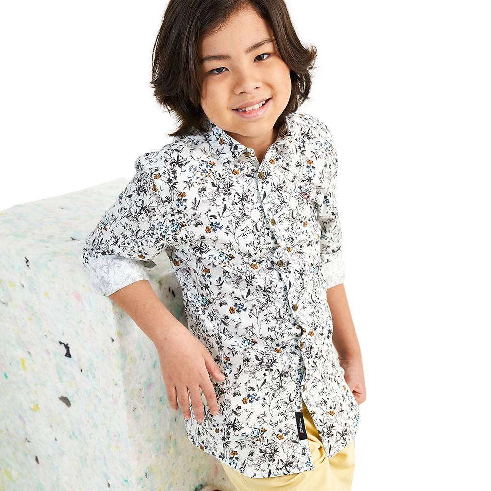 Camisa-Convicto-Infantil-Floral