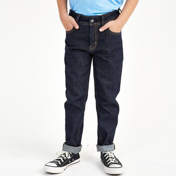 Calca-Infantil-Jeans-Masculina-Convicto-Slim-Bordada