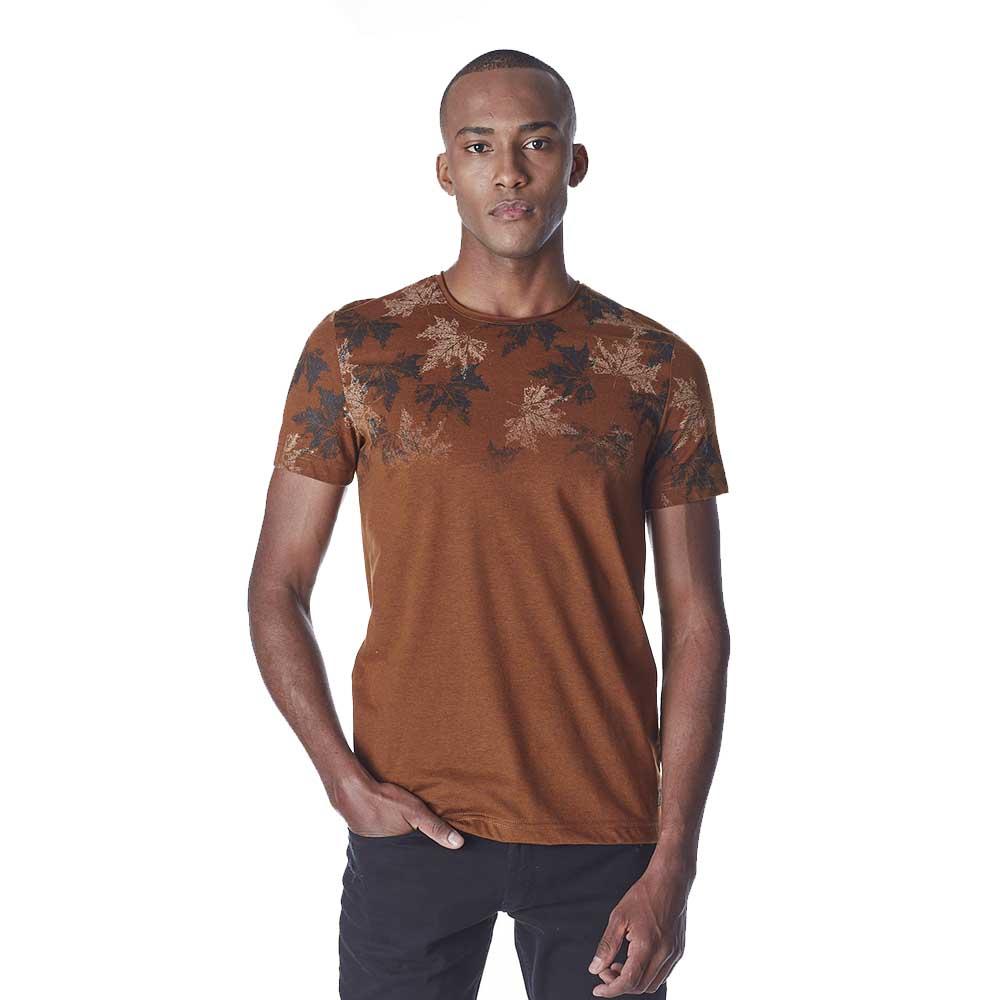 Camiseta-Masculina-Convicto-Malha-Cafe