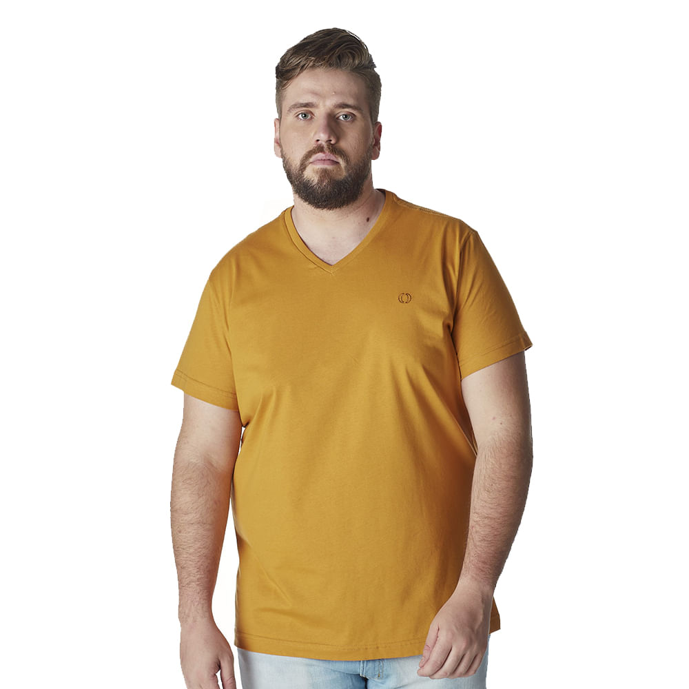 Camiseta-Plus-Size-Masculina-Convicto-basica-decote-V