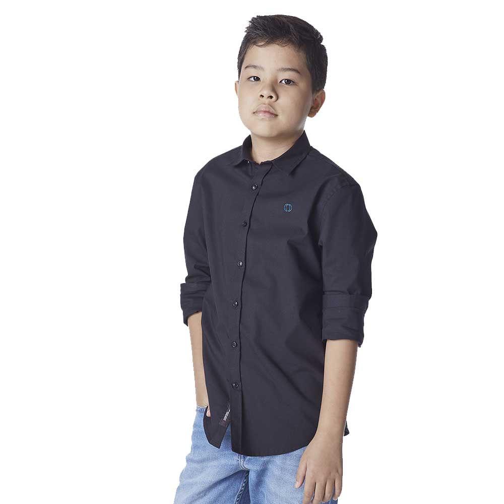 Camisa-Infantil-Masculina-Convicto-Manga-Longa-basica