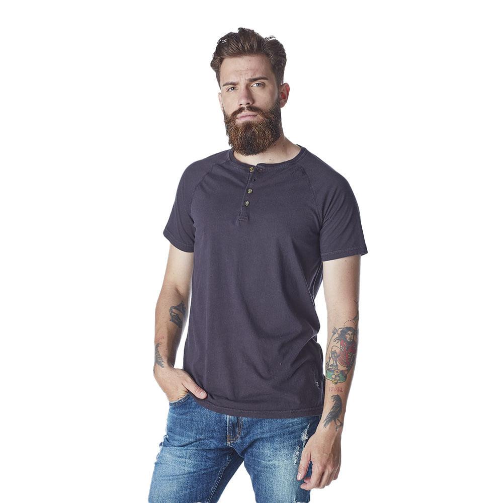 Camiseta-Masculina-Convicto-com-Gola-Henley