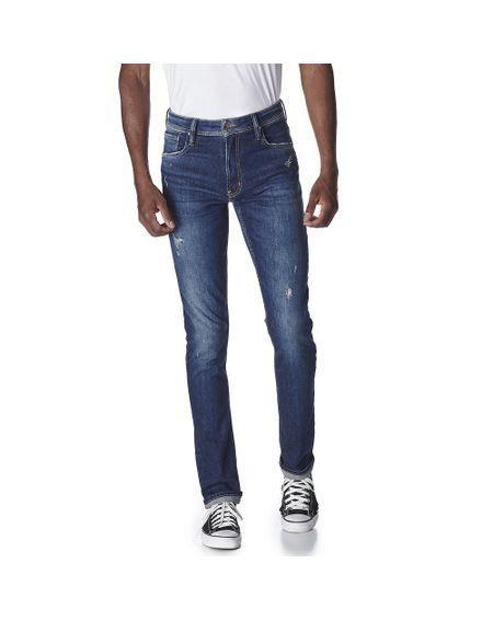 Calca-Jeans-Masculina-Convicto-Regular-Bordada-com-Puidos-