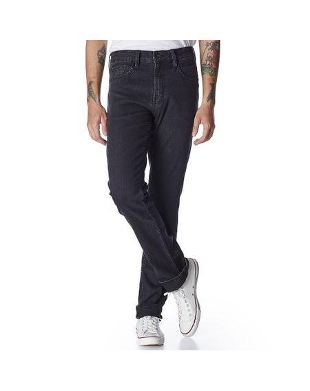 Calca-Jeans-Masculina-Convicto-Regular-Preta-Bordada