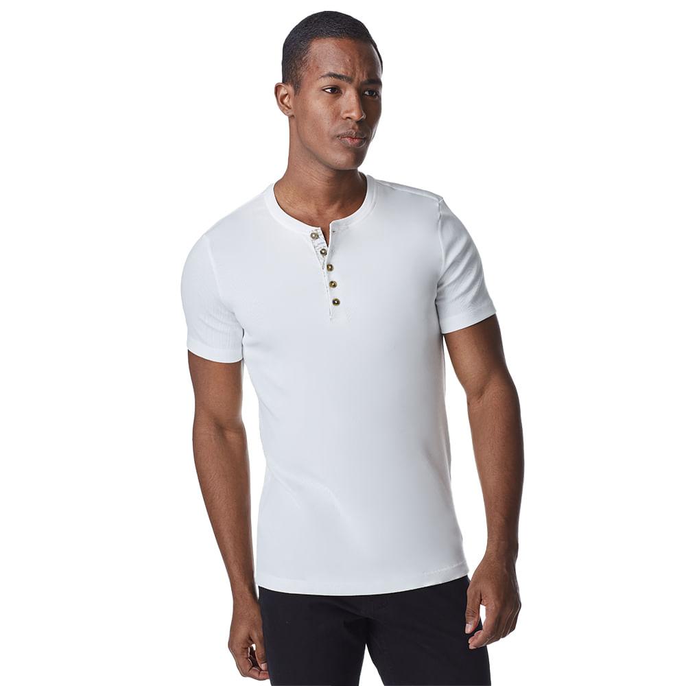Camiseta-Manga-Curta-Masculina-Convicto-Com-Gola-Henley