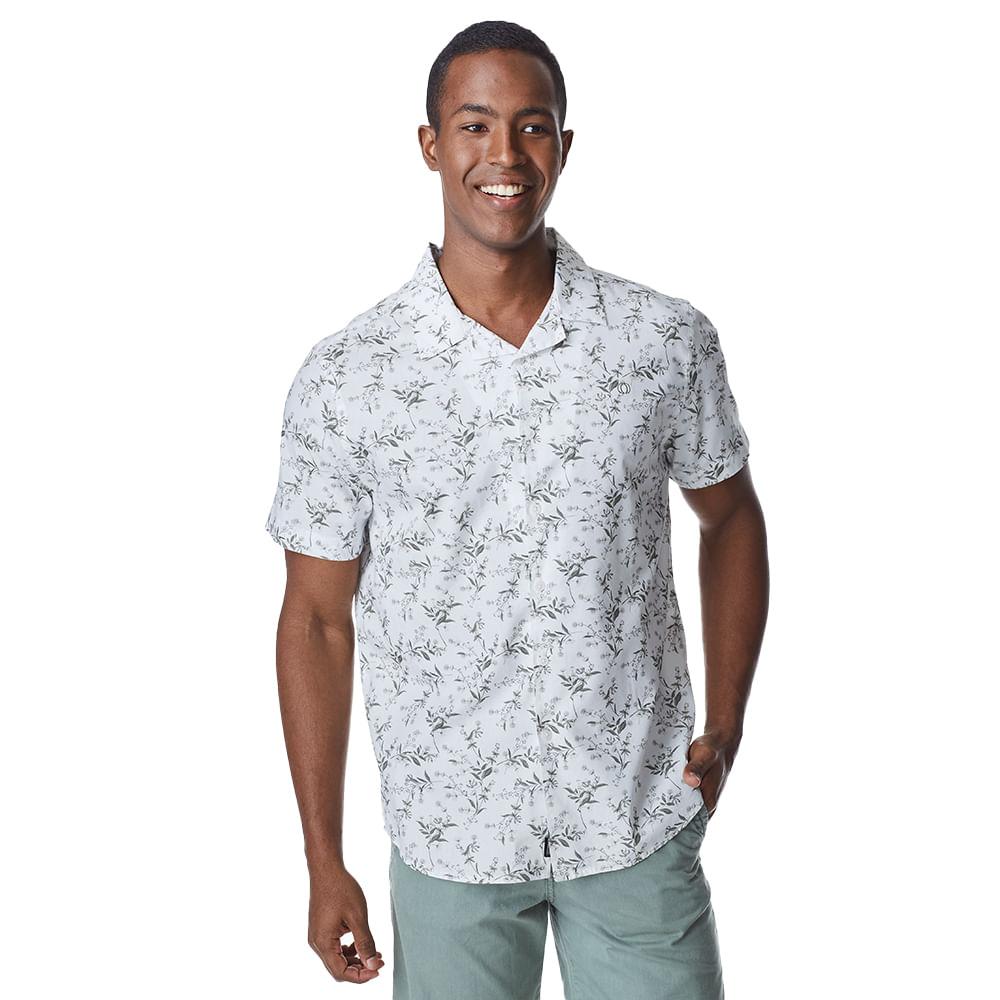Camisa-Manga-Curta-Masculina-Convicto-Resort-Estampada