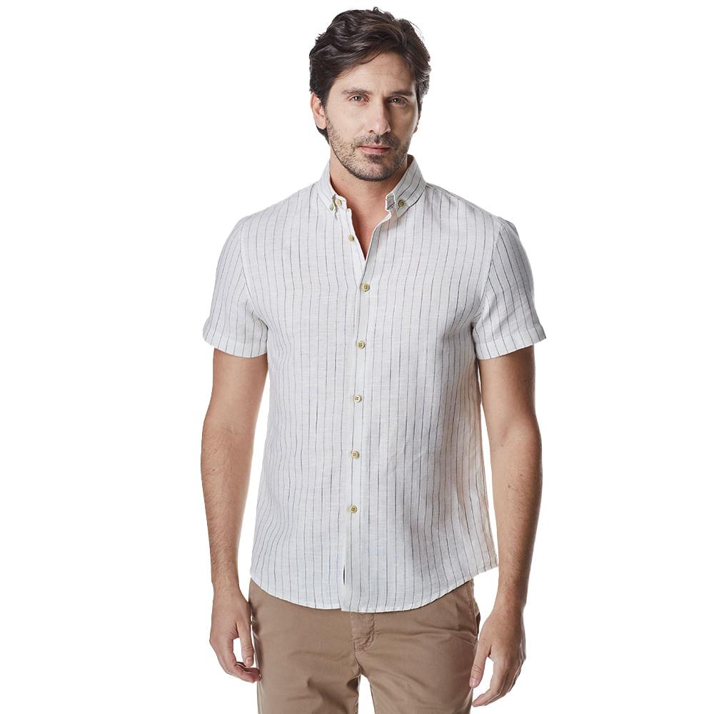 Camisa-Manga-Curta-Masculina-Convicto-Listrada