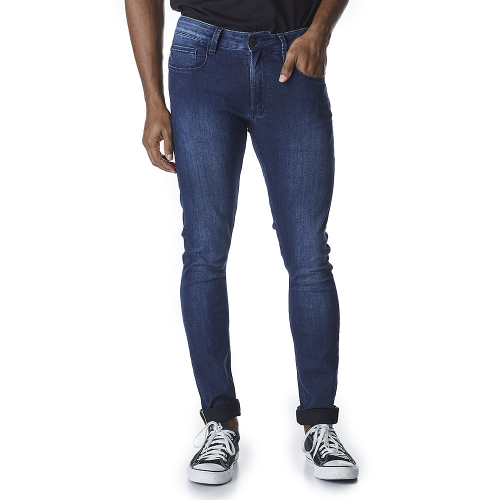 Calca-Jeans-Masculina-Convicto-Super-Skinny-Azul