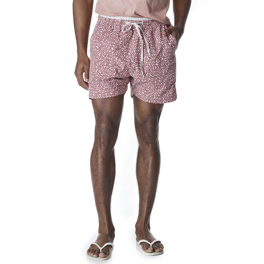 Shorts-Sarja-Masculino-Convicto-Cos-Elastico-Floral-Mini